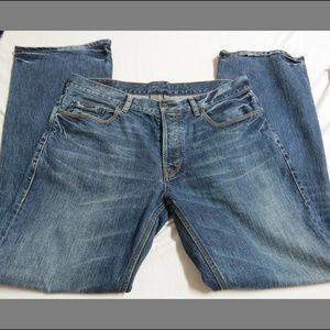 Sz 36 waist Blue Jean Ted Baker Cotton Denim Jeans
